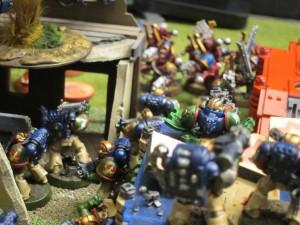Forward men, into the breach!