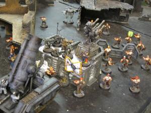 Castle Fyrehaus detects an intruder!