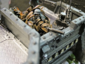 One of Rob's heavily converted snipers.