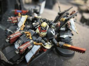 Toby's biker sergeant.