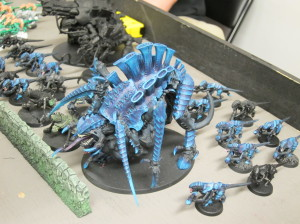 Tyranids finally learn how to work with others...