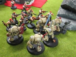 Figure 1: Cheap, expendable troops make excellent bubble wrap.