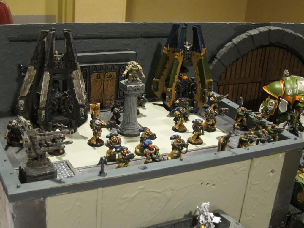 The wall-top shrine.