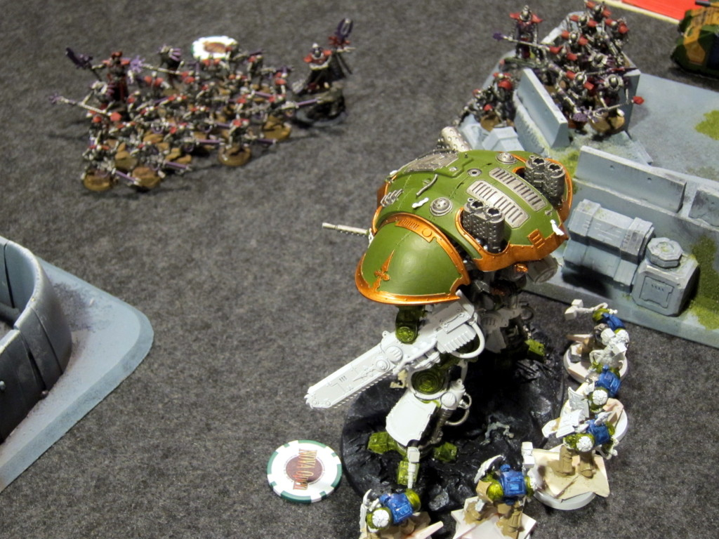 Jeremy Chamblee's Necrons are about to take this Knight down, and how.