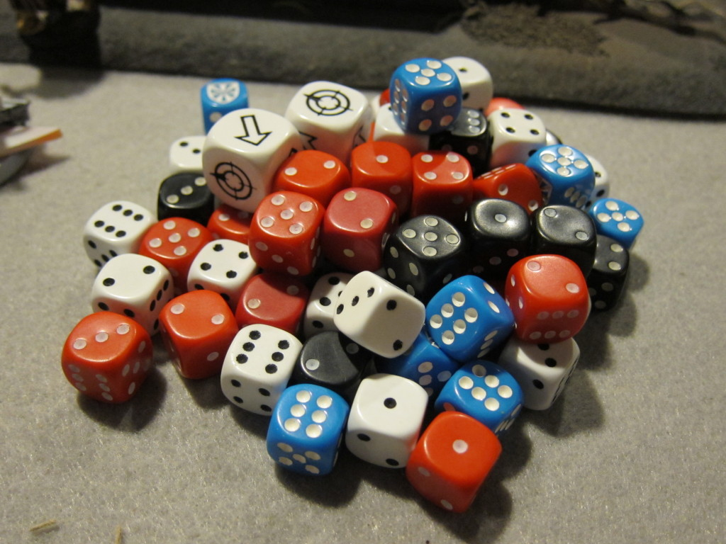 We all just want to roll dice.  But sometimes there's dramatic narrative!