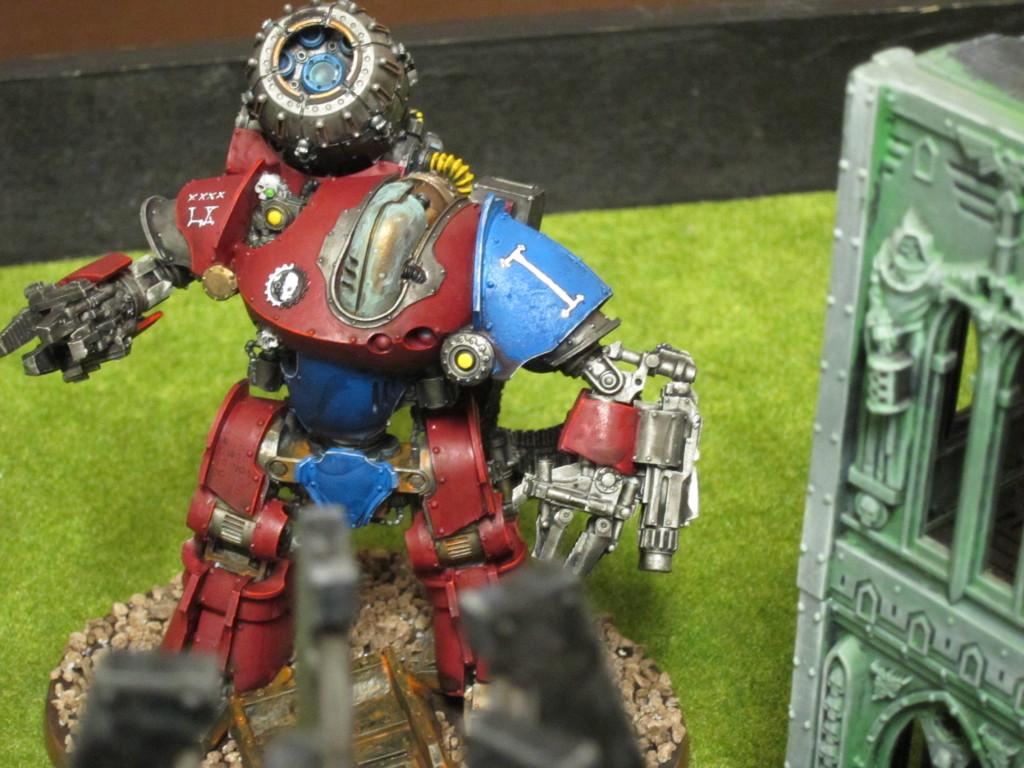 The Thanatar, bombarding poor little Tacticals across the board.