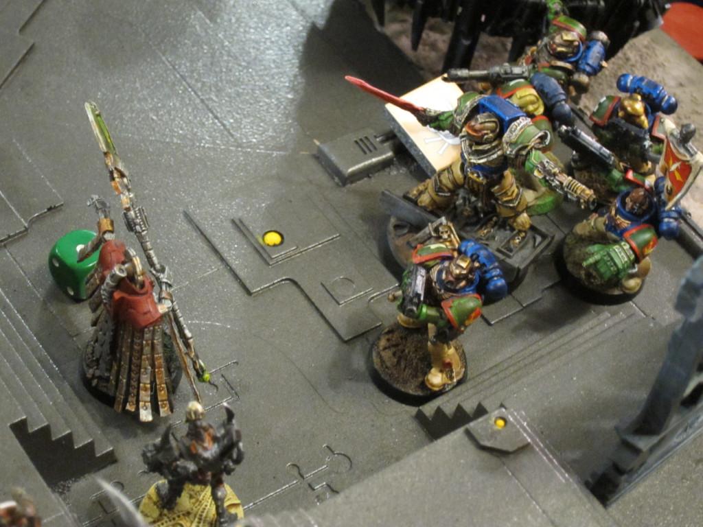 Captain Angholan and Squad Scolirus attack Nemesor Zahndrekh in his Citadel.