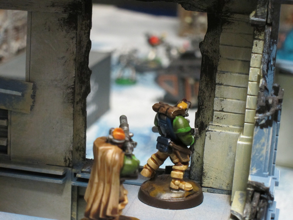 The Kingbreakers' emphasis on Scout skills and long term survival missions continues to this day. Here Kingbreakers Scouts monitor a developing situation on an ice world colony.