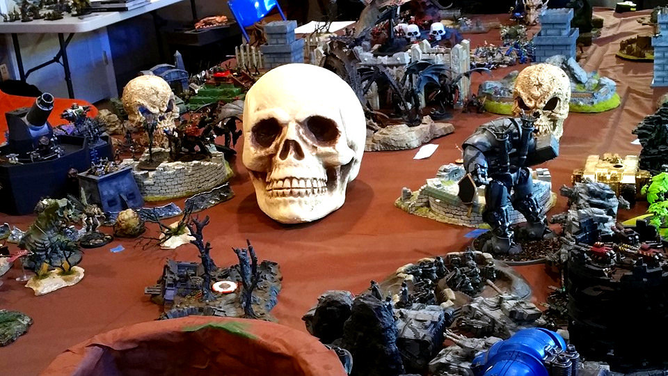 The Lord of Skulls cares not the victor, for he wins the loser regardless!