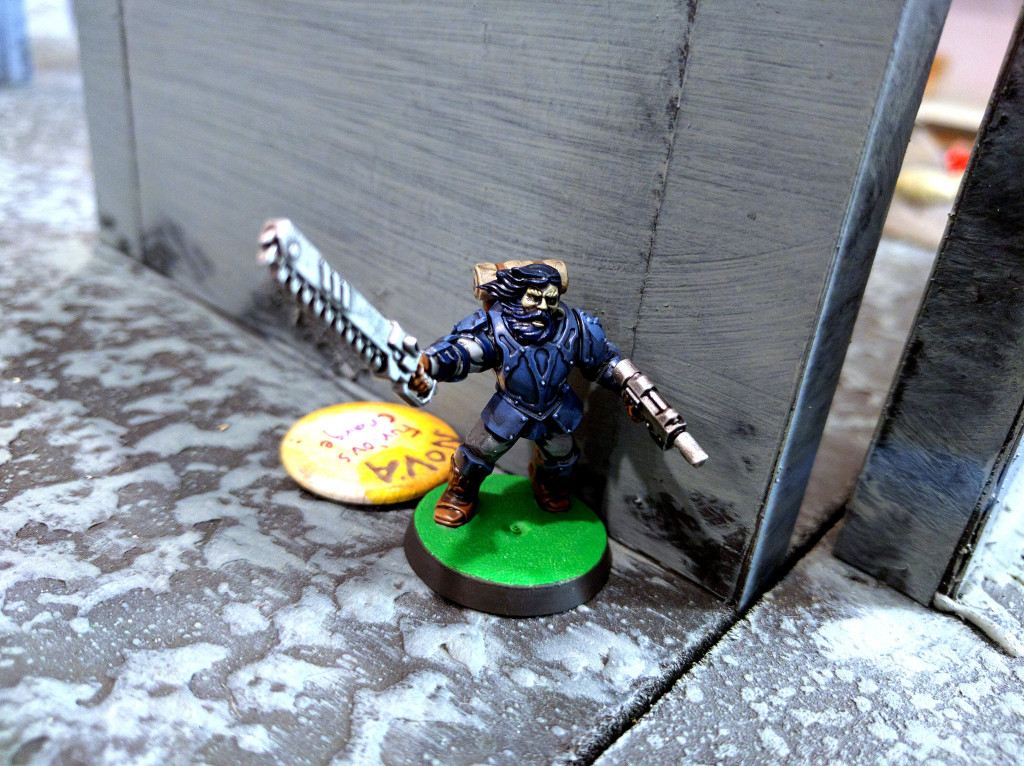 The Renegade Sergeant bellows out orders...