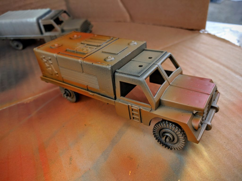 Another truck just in need of some detail work.